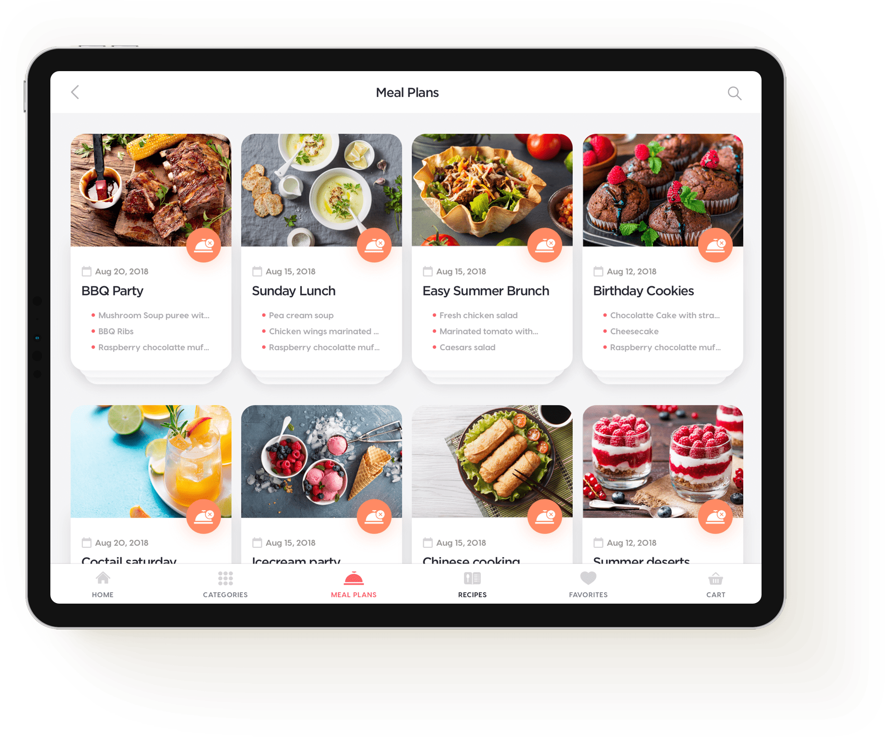 Yummy recipes meal plans